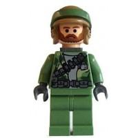 Rebel Commando Beard Lego Star Wars