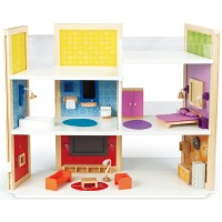 DIY Dream House Create Magnetic Dollhouse Set