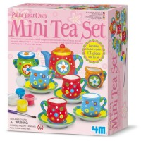 Paint Your Own 13 pc Tea Set