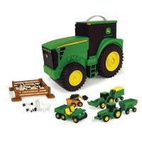 John Deere Farm Tractor Carry Case Value Set