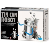 Build Tin Can Robot Green Science Kit