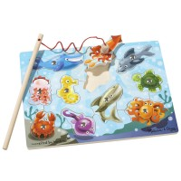 Fishing Game Magnetic Wooden Puzzle