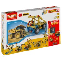Engino 40 Model Building Kit with Motor