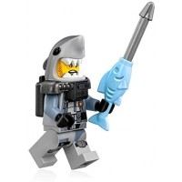 The Lego Ninjago Movie Minifigure Shark Army Great White Scuba Suit