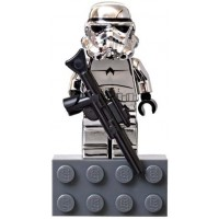 Lego Star Wars Chase Mini Figure Limited Edition Chrome Stormtrooper With