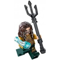 Lego Dc Super Heroes Justice League Minfigure Aquaman With Trident