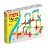 Quercetti Tubation Transparent 70 pcs Construction Set