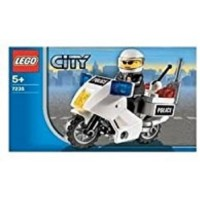 Lego City Police Motorcycle