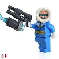 Lego Dc Super Heroes Justice League Minifigure Captain Cold With Freeze Gun Educational Toys Planet