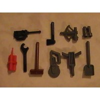 Lego City Construction Tool Set Of 10 Pieces Minifigure