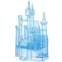 Bepuzzled Deluxe 3D Crystal Jigsaw Puzzle Disney Cinderella Castle Brain Teaser Fun Decoration Age
