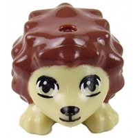 Lego Friends Brown Hedgehog Animal