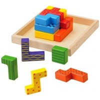 The Original Toy Company What Zit Wooden Puzzle