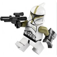 Lego Star Wars Minifigure Clone Trooper Sergeant With Blaster