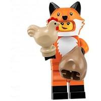 Lego Minifigures Series 19 Fox Suit Mascot Minifigure