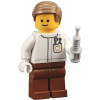 Lego City Assembly Square Minifigure Dentist Doctor