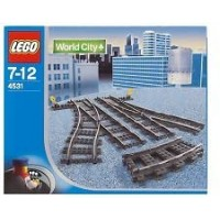 Lego World City Switching Tracks For 9V Trains