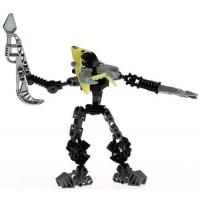 Lego Bionicle Vahki Figure 8618 Rorzakh Yellow