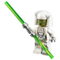New Lego Star Wars Jedi Consular Minifig Figure 75025 Old Republic White