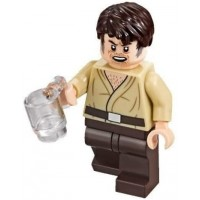 Lego Star Wars Mos Eisley Cantina Minifigure Wuher Bartender With Cup