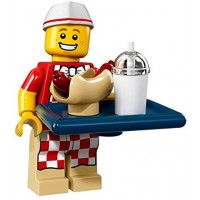 Lego Collectible Minifigures Series 17 71018 Hot Dog Man