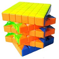 Tanch Speed Cube Cyclone Boy Stickerless 6X6X6 Magic Cube Puzzle Toy