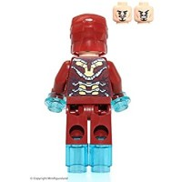 Lego Marvel Super Heroes Iron Man Mark 43 Minifigure