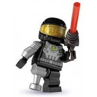 Lego Minifigures Series 3 Minifigur Space Villain X1