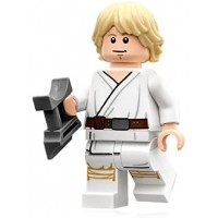Lego Star Wars Minifigure Luke Skywalker Tatooine Sternsmile Face