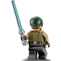 Lego Star Wars Rebels Kanan Jarrus Minifigure With Lightsaber Season 2