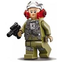 Lego Star Wars Episode 8 Minifigure Awing Pilot Tallissan Lintra