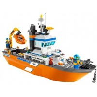 Lego 7739 City Coast Guard Patrol Boat And
