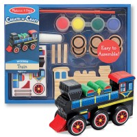 Decorate Wooden Train Craft Kit