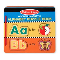 Alphabet Puzzle Book for Kids