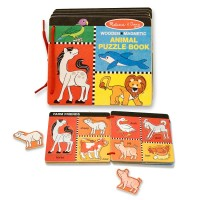 Animal Wooden Puzzle Book