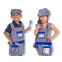 Train Engineer Kids Costume Role Play Set