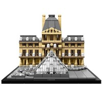 Louvre Construction Set by LEGO Architecture