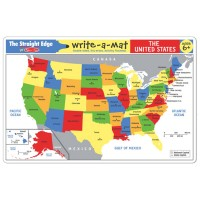 USA Map Learning Placemat
