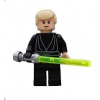 Lego Star Wars Luke Skywalker Black Jedi From