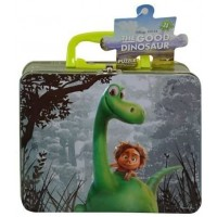 Disney Good Dinosaur Puzzle In Tin With Handle By