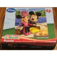 Mickey Mouse Clubhouse Camp Fire Puzzle 24Pc By