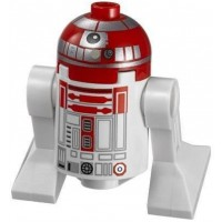 Lego Star Wars Minifigure Astromech Red Droid From Vwing Starfighter