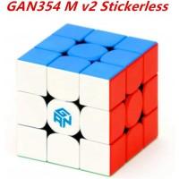 Cuberspeed Gan354 M V2 Stickerless Gans Magnetic Speed Cube 3X3X3 Gan354 M V2