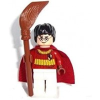 Lego Harry Potter 2010 Mini Figure Harry Potter Quidditch Outfit With
