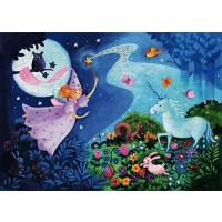 Djeco Shaped Box Puzzle The Fairy And
