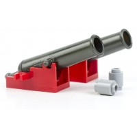 Lego Pirate Red Cannon Lot Red Shooting Cannons For
