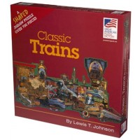 Shaped Jigsaw Puzzle Classic Trains Lewis T Johnson 700