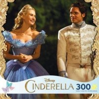 Disney Cinderella And The Prince 300 Piece Oversize Jigsaw