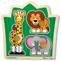 Jumbo Knob Puzzles Set Of