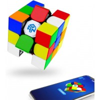 Gan 356I Play Stickerless 3X3 Smart Cube Intelligent Tracking Timing Movement Step Speed Cube